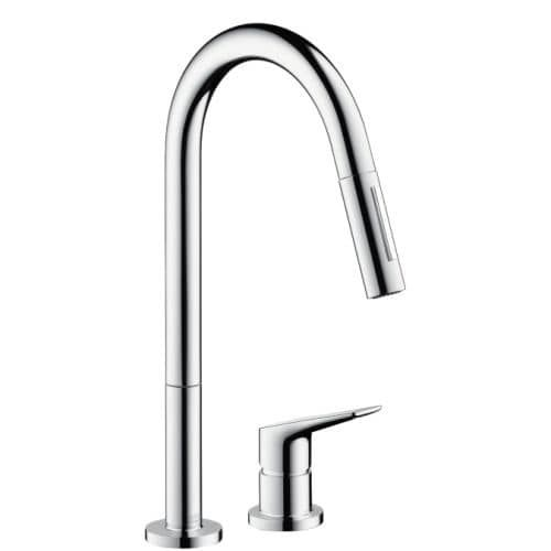Axor 34822 Citterio Pull-Down Kitchen Faucet with High-Arc Spout ...