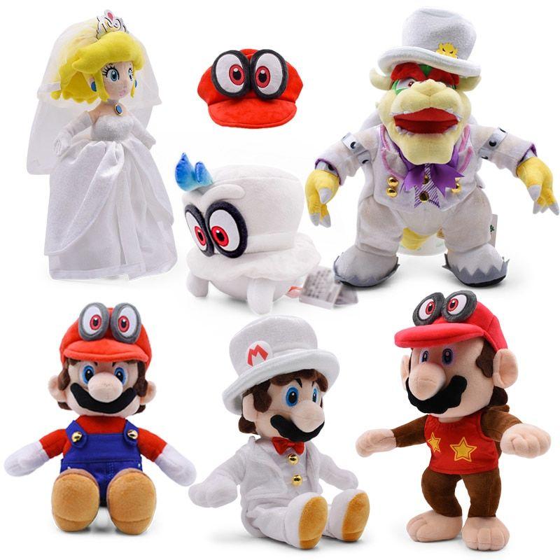 Anime Super Mario Odyssey Bros Wedding Dress Bowser Koopa