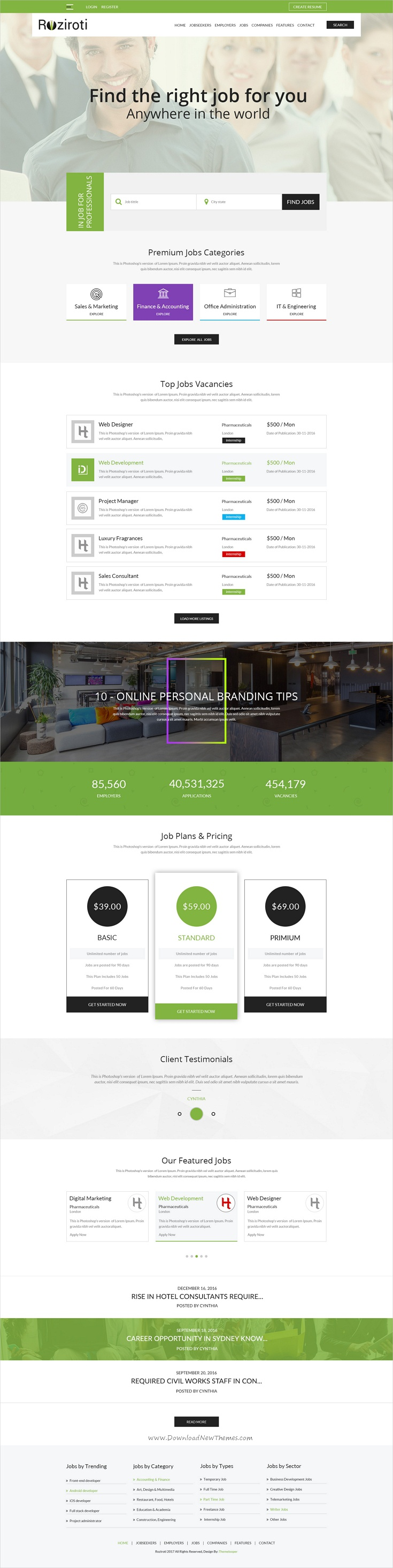 Pin by ali on Website design themes / examples Psd