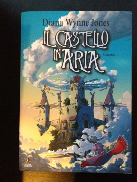 Castle In The Air Il Castello In Aria 1990 Kappa Editions Italy 2006 Received From Italian Bookstore Book Cover Books Painting