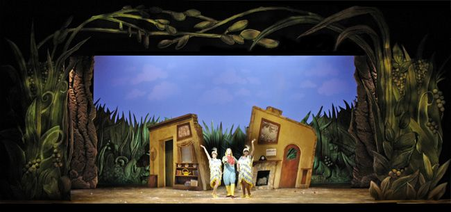 A Year With Frog And Toad Clarence Brown Theatre Scenic Design