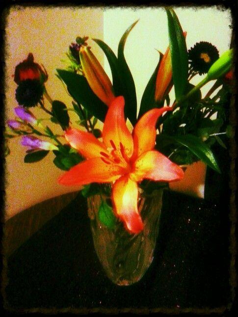 Tigerlilly bouquet!