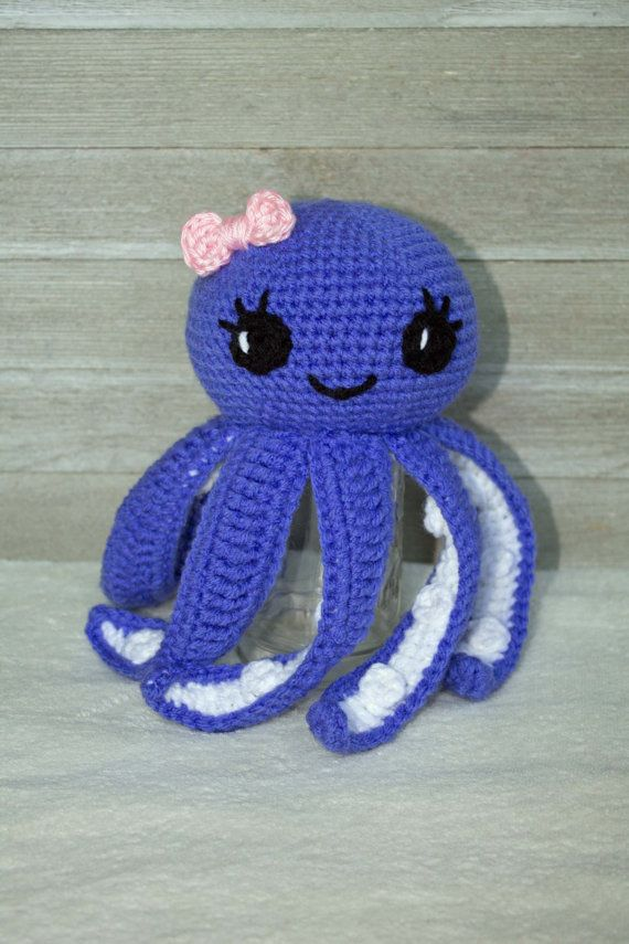 Crochet Octopus Pattern Pattern Only Amigurumi Octopus Pattern Baby