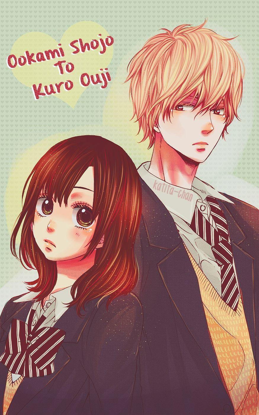 Erika Shinohara And Kyouya Sata Wolf Girl And Black Prince Manga Anime Resimler