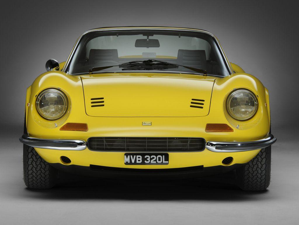 1971 FERRARI DINO 246 GTS RHD E SERIES
