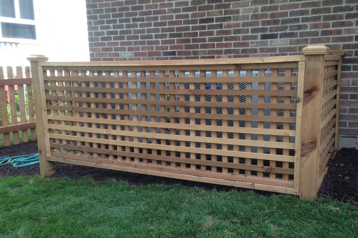 Custom Fences Chicago, Custom Made Designs Fence design