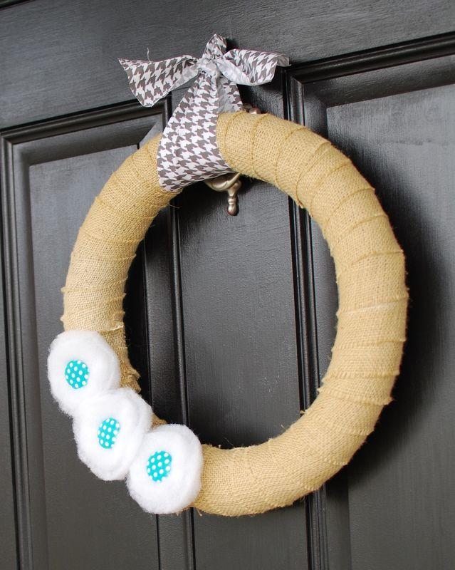 Photo of winter wreath tutorial