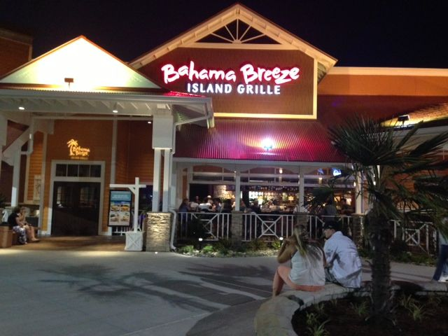 Review Bahama Breeze Island Grille In Va Beach Virginia Restaurants Caribbean Restaurant
