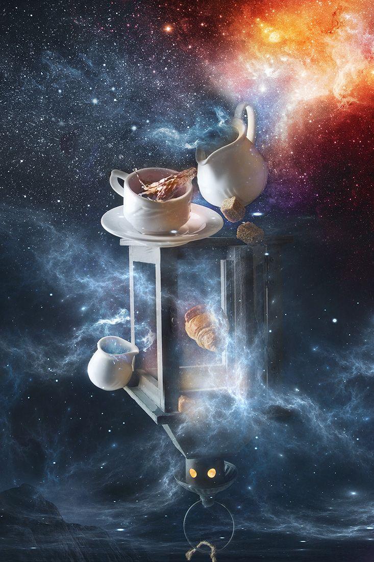 гиф картинки космическое доброе утро