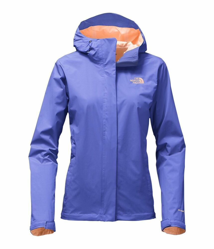 80243f119 The North Face Womens Venture 2 Jacket Raincoat Shell M L Pink Blue ...