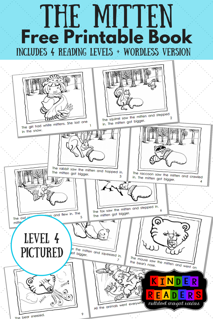 The Mitten Activities to go with the book!