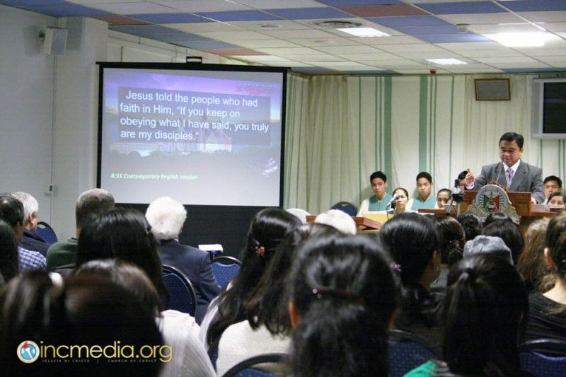 Photo of the Day – Iglesia Ni Cristo Media – DAY 2 April 19 Photo taken by Sis. January Ramirez, local congregation of Oslo, Norway Brethren from the local congregation of Oslo, Norway continues on the work of salvation by participating in the Evangelical Mission.