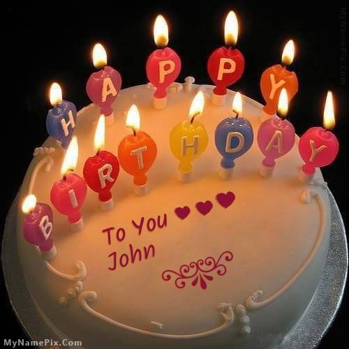 Terrific New Name Pix With Images Happy Birthday Cake Pictures Happy Personalised Birthday Cards Paralily Jamesorg