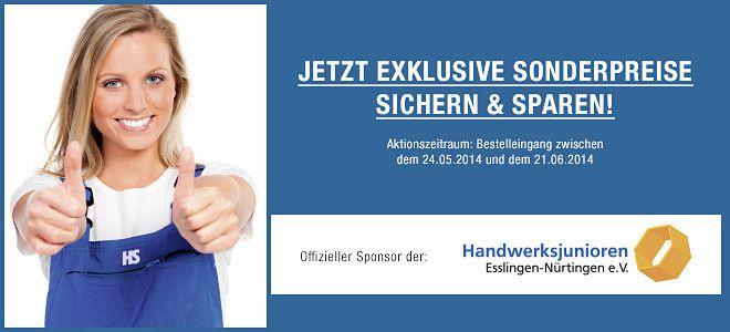 Landeskongress der Handwerksjunioren - wir sind ein Sponsor, dazu gibt es exklusive Sonderangebote unter www.hs-tool-shop.de