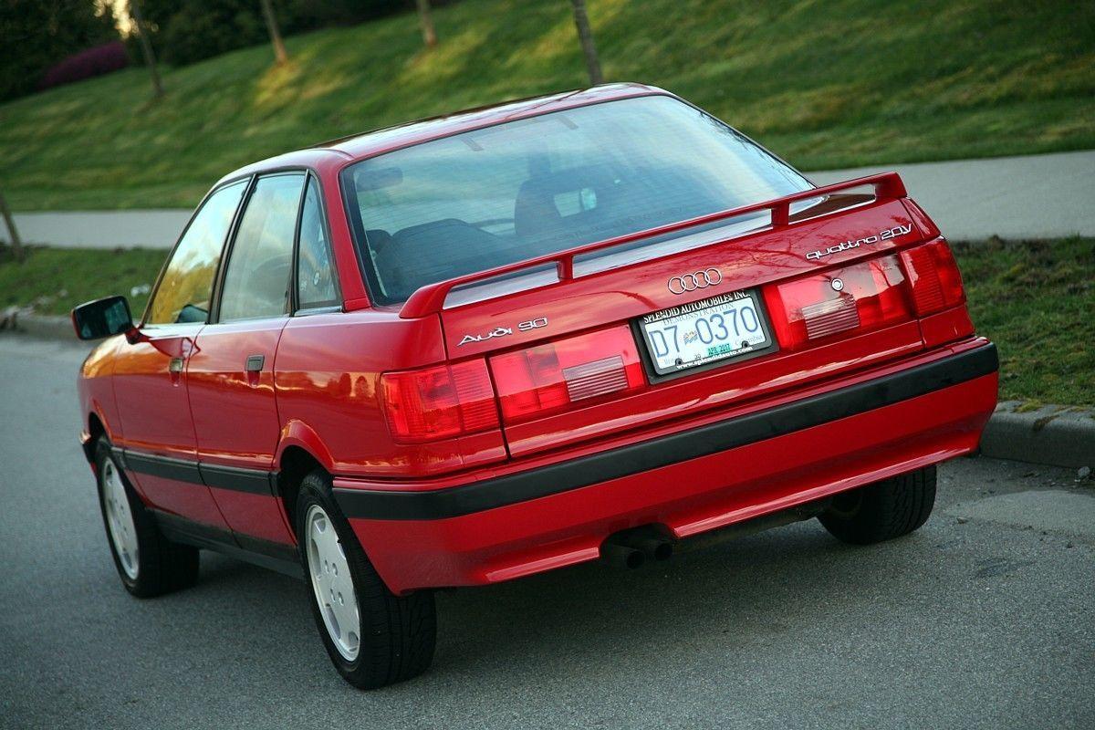 1990 Audi 90 quattro 20V   German Cars For Sale Blog   Audi, Audi cars, Audi coupe