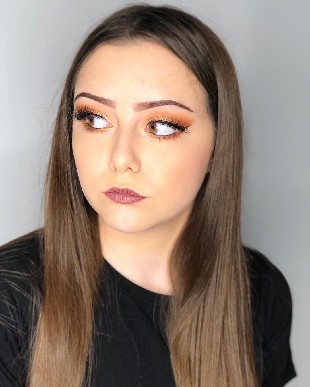 40+ Brown Eyes Simple Makeup Ideas Simple makeup, Makeup