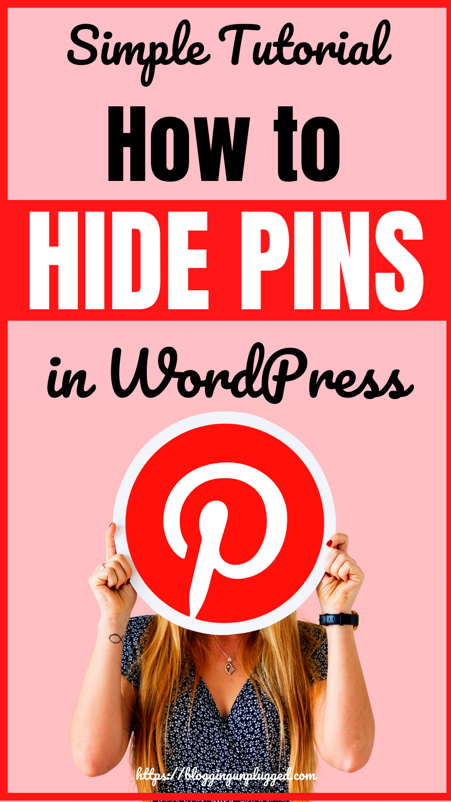 How To Hide Pins In Wordpress Simple Tutorial In 2020 Blogging Essentials Email Marketing Examples Wordpress Blog Post