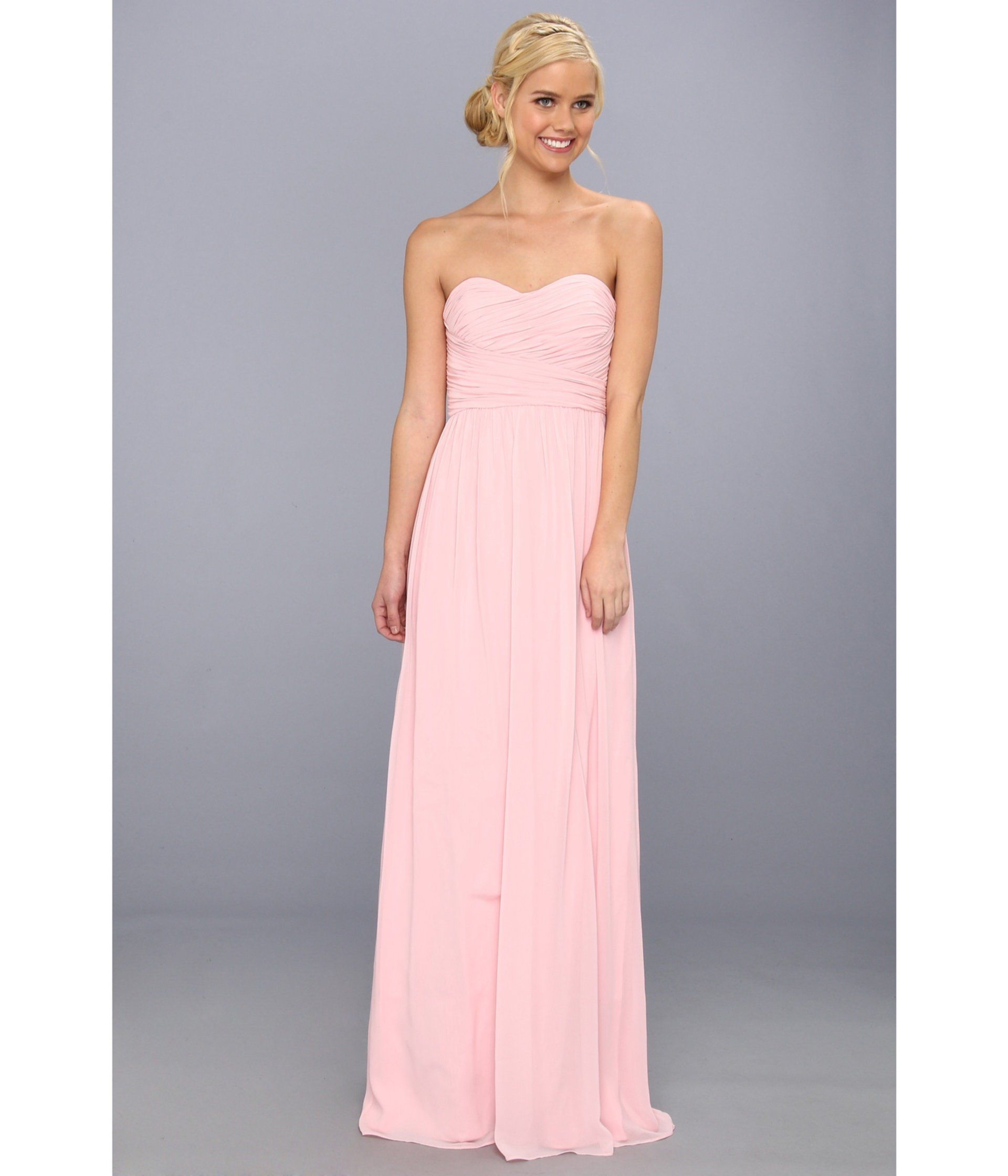 Rochie domnisoara de onoare roz pal | Rochii Elegante | Pinterest
