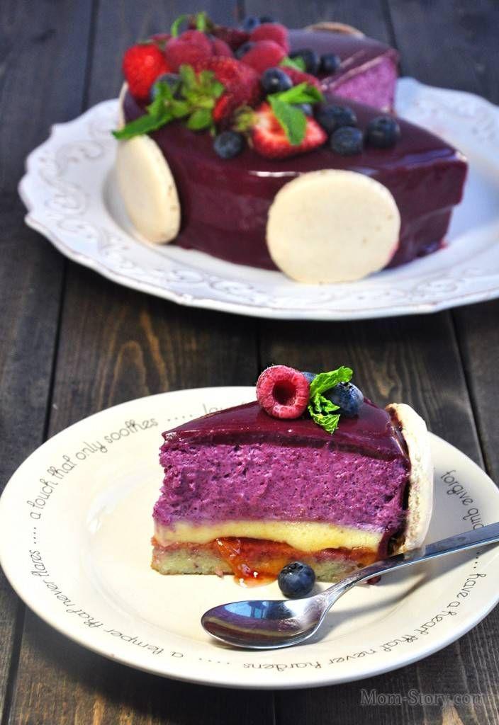 торт мусс из черной смородины рецепт