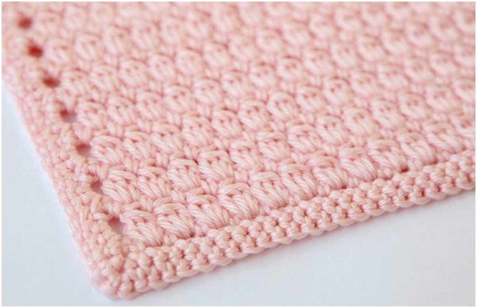 Clusters Crochet Baby Blanket Crochet Baby Blankets Crochet Baby