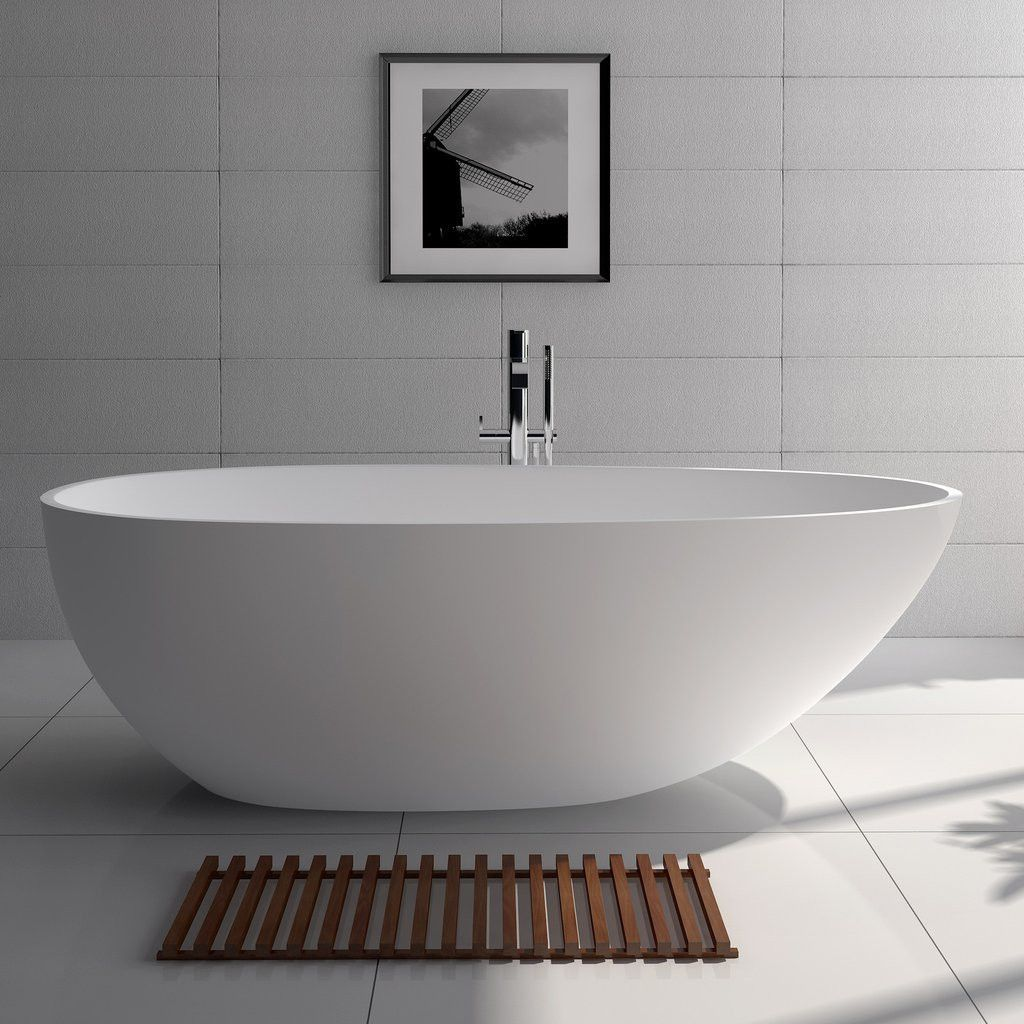 Oval Freestanding Tub Red Or White (2 Sizes)