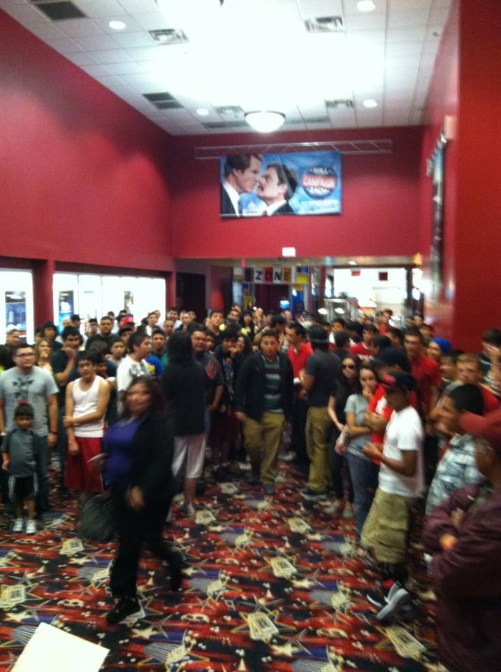 Here families got together to play Video Games ON the BIG Screen @Premiere Cinema at Bassett!  What fun was that?!?