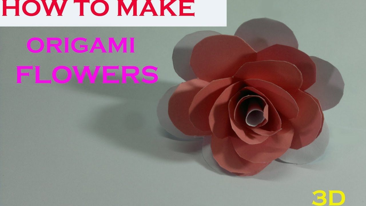 Paper Flowers How To Make Paper Flowers Paper Flowers Making Step