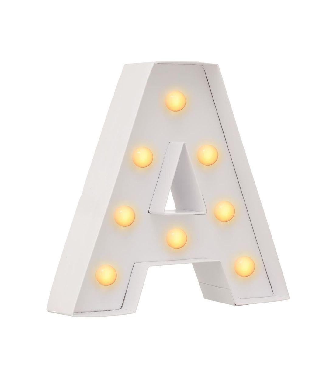 lettre lumineuse lettre lumineuse A à personnaliser | secret wedding | Pinterest | Cali lettre lumineuse
