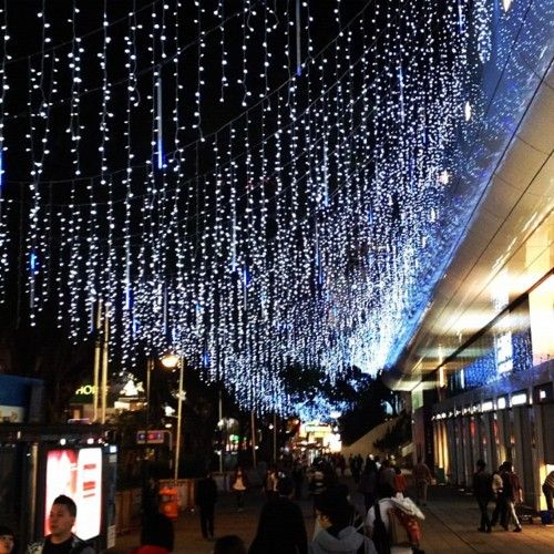 Land of raining Christmas lights (Taken with Instagram at Hong Kong) - Land Of Raining Christmas Lights (Taken With Instagram At Hong Kong