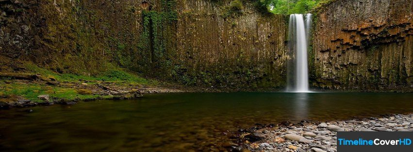 Natural Waterfall Timeline Cover 850x315 Facebook Covers Timeline