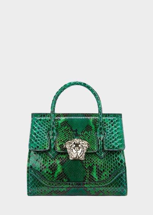a4941a3b665a VERSACE Colored Python Palazzo Empire Bag.  versace  bags  shoulder bags  hand  bags  leather