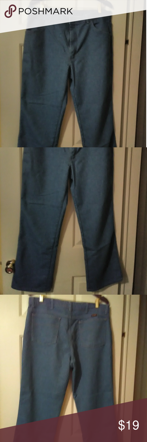 9364ab7f Mens Wrangler jeans Gently used, still in great condition. Wrangler Jeans  Straight