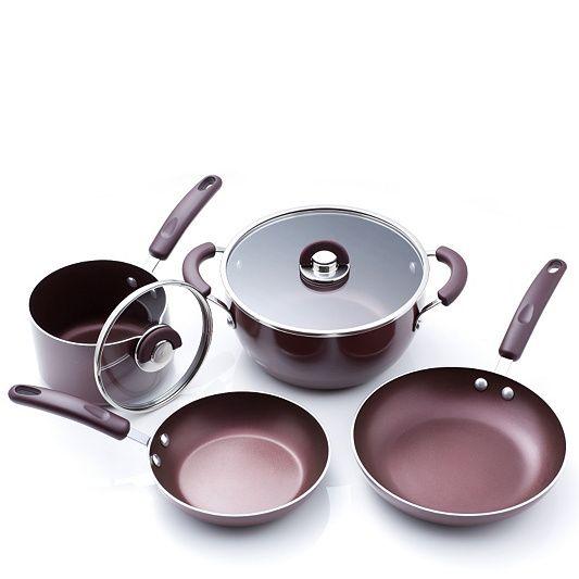 Cook S Essentials 4 Piece Aluminium Cookware Set Order Online At Qvcuk Com Cookware Set Cooking Essentials Cookware And Bakeware