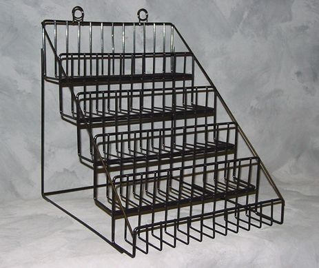 5 Tier Counter Top Display Impulse Sales Display Wire Rack