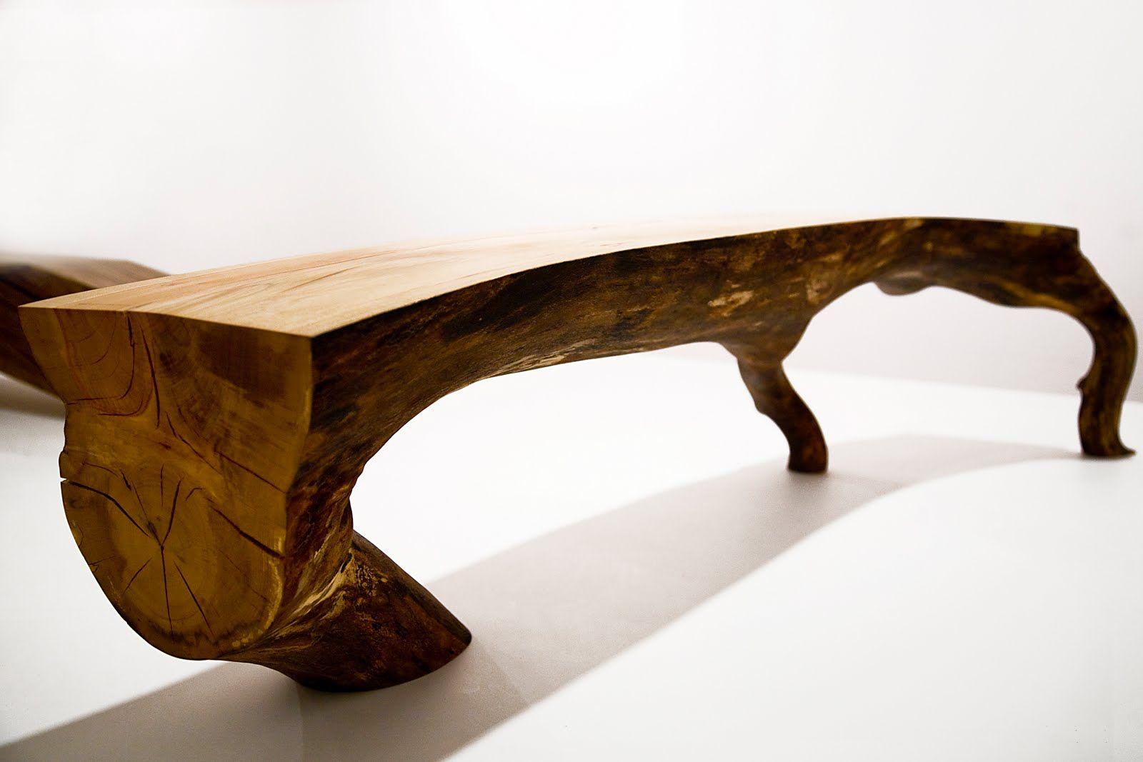 Kaspar Hamacher Bois Concept Chaises Bois Into The Wood