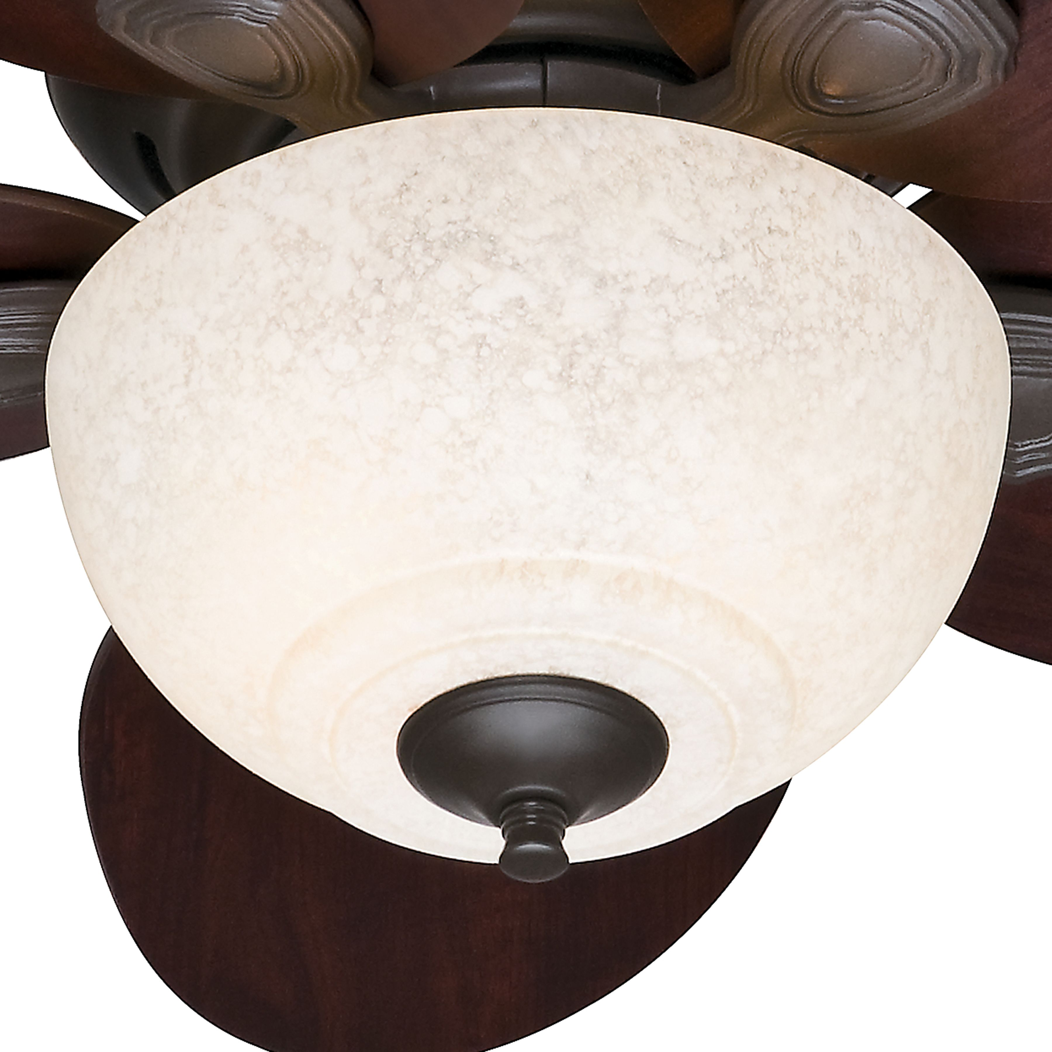 Hunter 34 Inch New Bronze Finish Ceiling Fan With Italian Amber