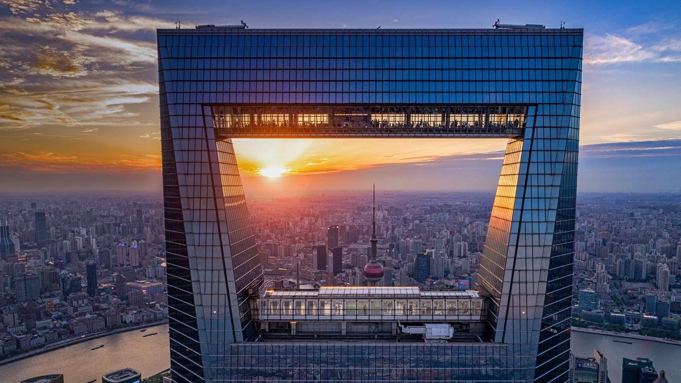Shanghai World Financial Center Shanghai China C Danny Hu Getty Images Bingwallgermany Shanghai Bilder Bild Der Tag