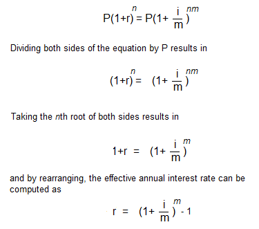 calculating interest rate formula