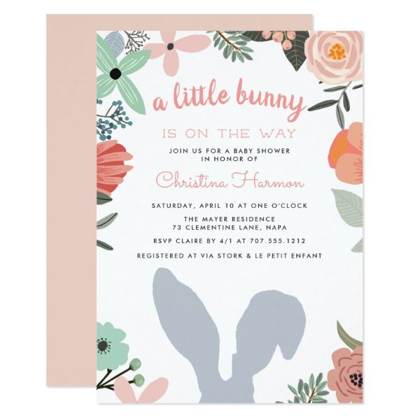 Spring arrival baby shower invitation shower invitations spring spring arrival baby shower invitation shower invitations spring and summer wedding invitations filmwisefo Image collections