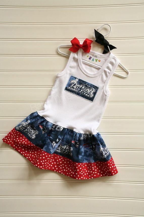 New England Patriots Dress Available 03 Months By Babythreadsbyliz 23 00 Dresses Pillowcase Dress