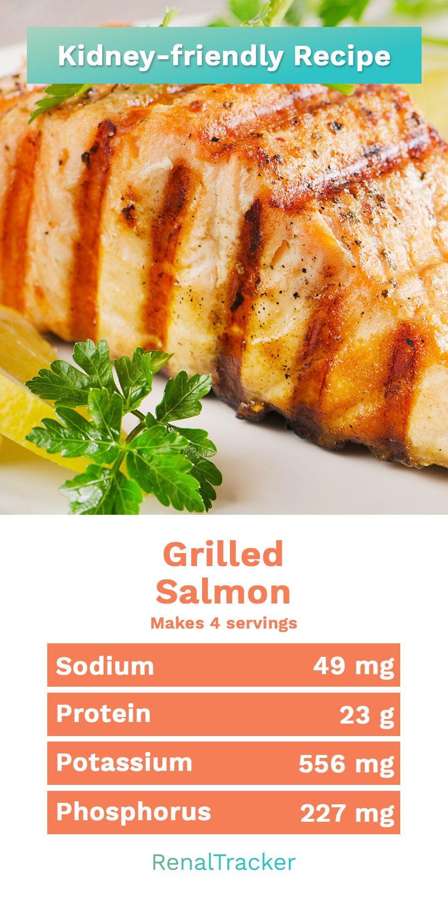 fish recipes for renal diet