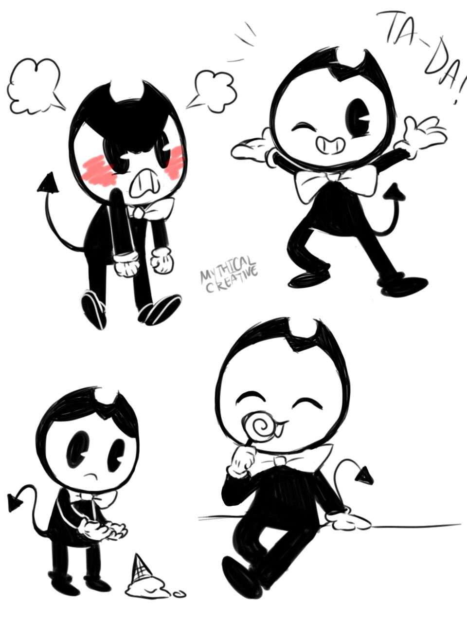 Bendyandtheinkmachine Fnaf Bendy And The Ink Machine Fandoms Fandom Memes Smol