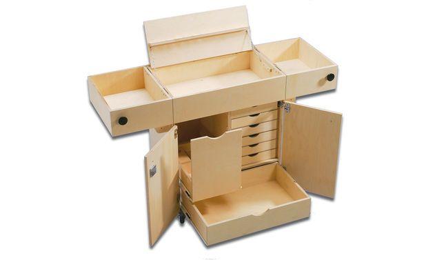 werkstattwagen basteln caisse a outils outils und atelier. Black Bedroom Furniture Sets. Home Design Ideas