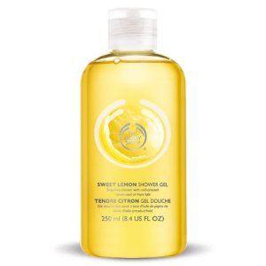 The Body Shop Sweet Lemon Shower Gel 8 4 Fl Oz By The Body Shop