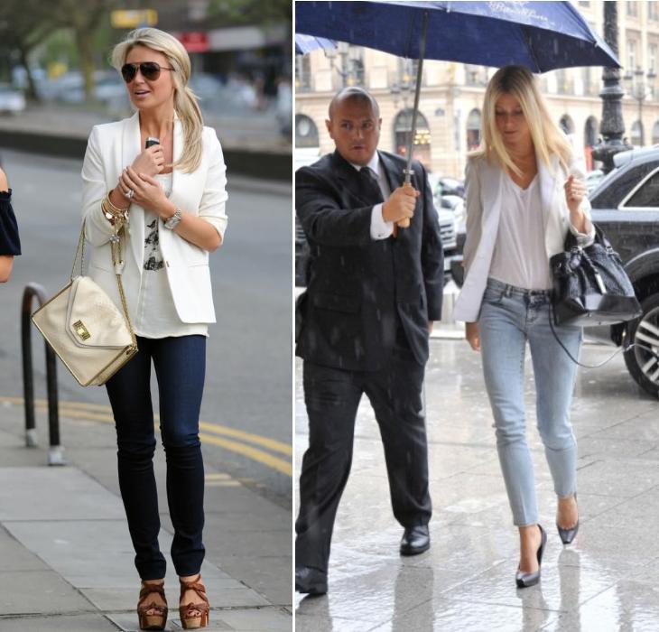 how to wear a blazer style lena penteado white blazer white top ...