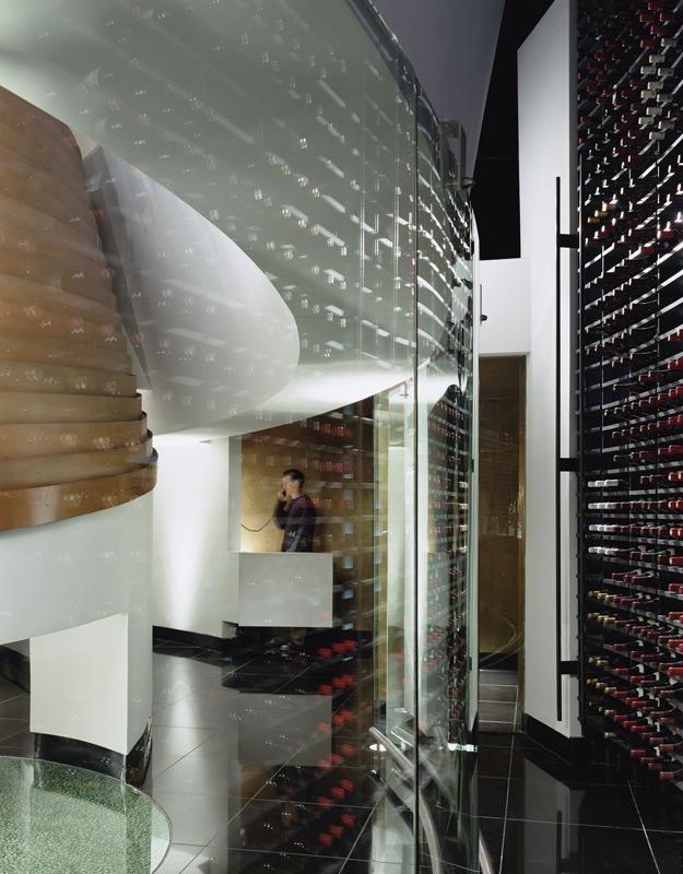 Restaurant interior design lutece las vegas morphosis