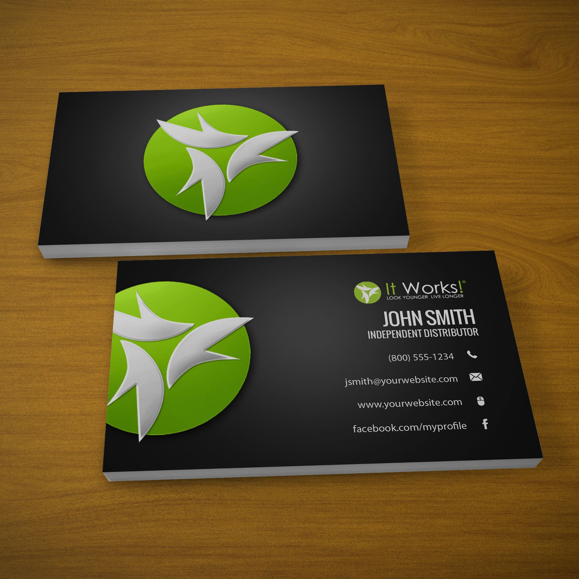 New Business Cards Just For It Works Distributors Mlm Itworks Hair Nails Keto Natural Print Pap Free Business Cards Printing Business Cards It Works