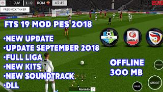 FTS Mod PES 2019 BY JIHAR'Z V4 | Football Games | Soccer