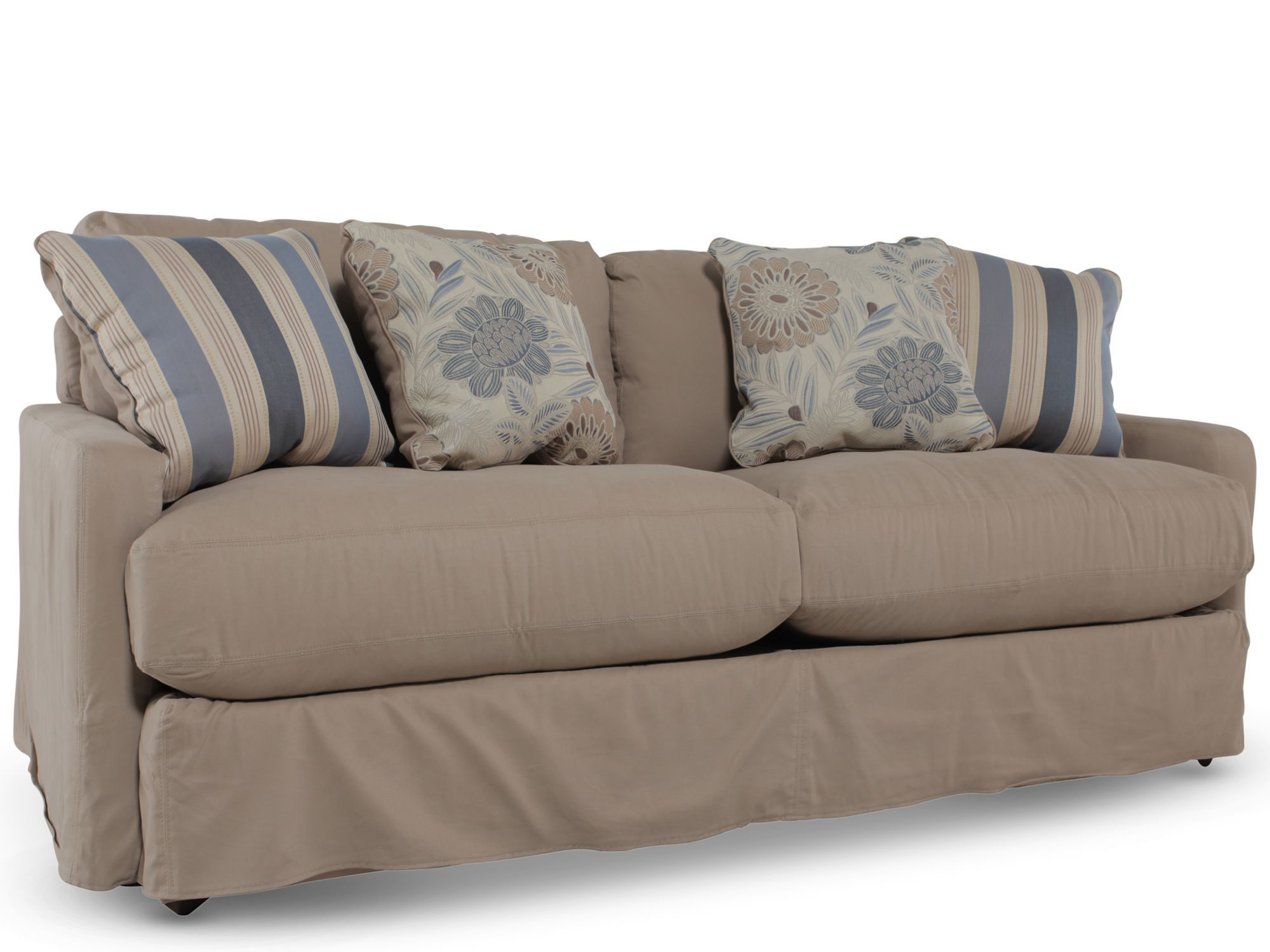 Khaki Couch Ashley Addison Sofa