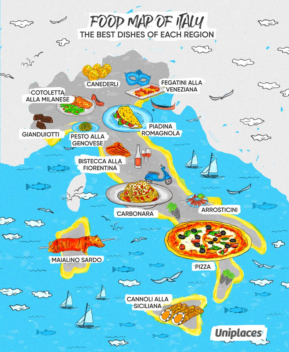 Food Maps Of Europe Europe Map Travel Map Food Map